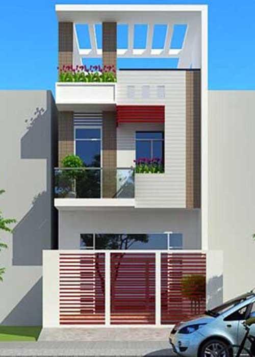 Xây dựng nhà phố 3 tầng nhà anh Thái Bình Tân