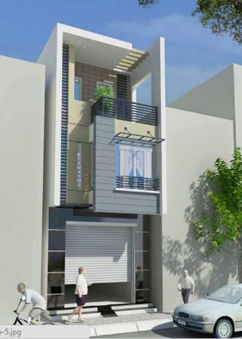 Đơn giá thiết kế xây nhà 3 tầng 65m2