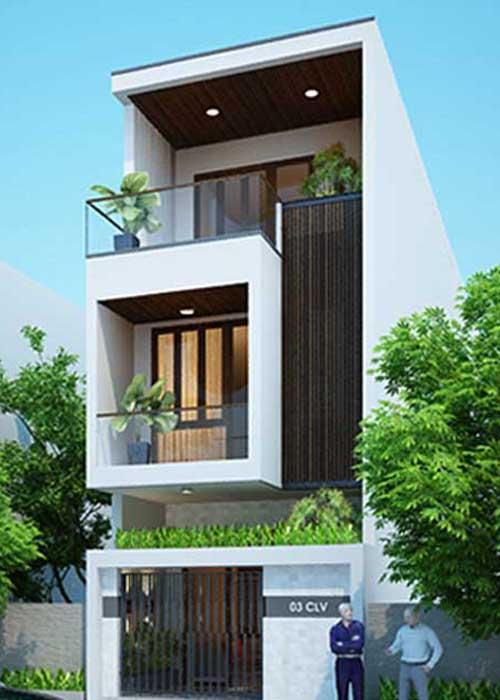 Chi phí xây dựng nhà phố 3 tầng 50M2