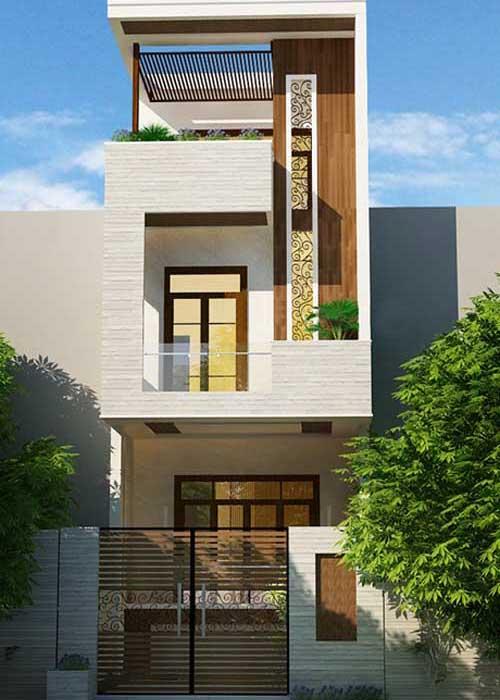 Đơn gía xây nhà trọn gói 3 tầng 55m2